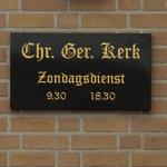 CGK Meerkerk informatie plaquette